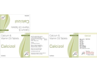 Calcizol - Zodley Pharmaceuticals Pvt. Ltd.