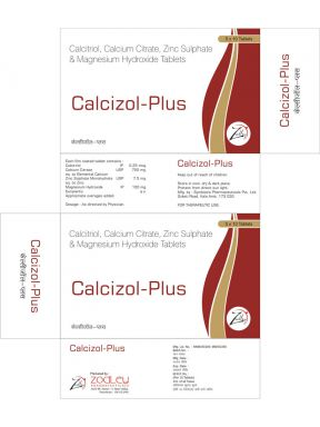 Calcizol Plus - Zodley Pharmaceuticals Pvt. Ltd.