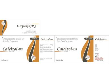 Calcizol-D3 - Zodley Pharmaceuticals Pvt. Ltd.