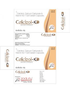 Calcizol-K2 - Zodley Pharmaceuticals Pvt. Ltd.
