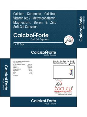 CALCIZOL FORTE - Zodley Pharmaceuticals Pvt. Ltd.