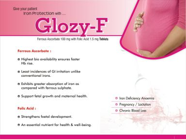 Glozy- F - (Zodley Pharmaceuticals Pvt. Ltd.)