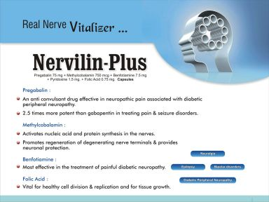 Nervilin-Plus - (Zodley Pharmaceuticals Pvt. Ltd.)