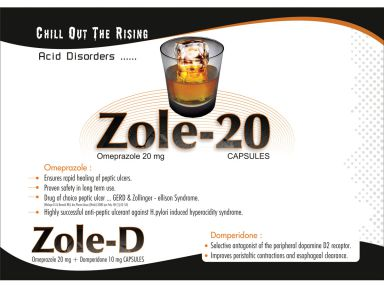 Zole - 20 - (Zodley Pharmaceuticals Pvt. Ltd.)