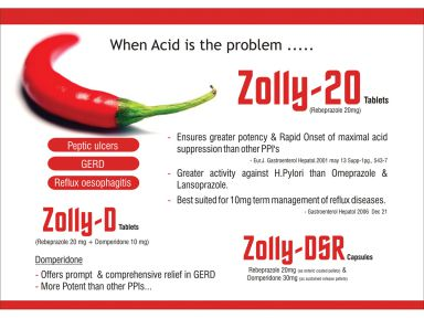 Zolly - 20 - (Zodley Pharmaceuticals Pvt. Ltd.)