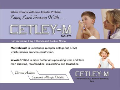 Cetley-M - (Zodley Pharmaceuticals Pvt. Ltd.)