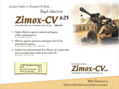 Zimox-CV - (Zodley Pharmaceuticals Pvt. Ltd.)