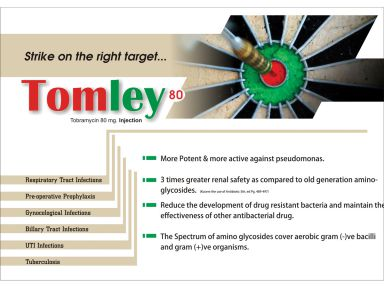 Tomley -80 - Zodley Pharmaceuticals Pvt. Ltd.