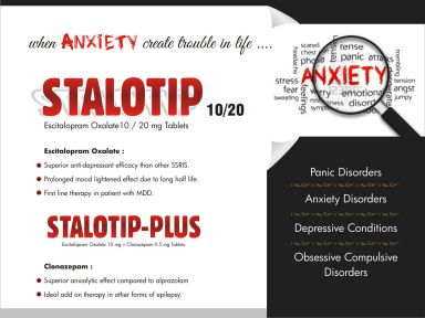 STALOTIP - 20 - (Zodley Pharmaceuticals Pvt. Ltd.)
