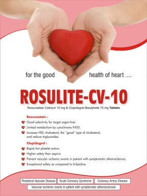 Rosulite CV 10 - (Zodley Pharmaceuticals Pvt. Ltd.)