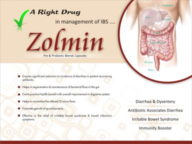 Zolmin - (Zodley Pharmaceuticals Pvt. Ltd.)