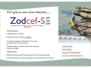 ZODCEF S750 - Zodley Pharmaceuticals Pvt. Ltd.