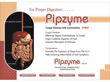 PIPZYME - (Zodley Pharmaceuticals Pvt. Ltd.)