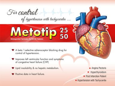 Metotip-25XL - (Zodley Pharmaceuticals Pvt. Ltd.)