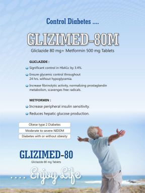 GLIZIMED 80 - Zodley Pharmaceuticals Pvt. Ltd.
