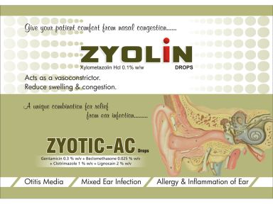 ZYOTIC AC - Zodley Pharmaceuticals Pvt. Ltd.