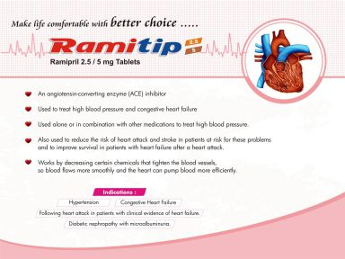 Ramitip-2.5 - (Zodley Pharmaceuticals Pvt. Ltd.)
