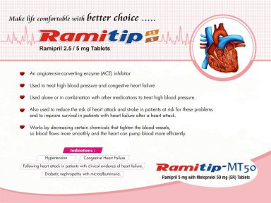 Ramitip-MT-50 - (Zodley Pharmaceuticals Pvt. Ltd.)