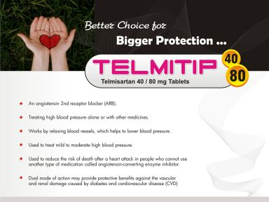 Telmitip-80 - (Zodley Pharmaceuticals Pvt. Ltd.)