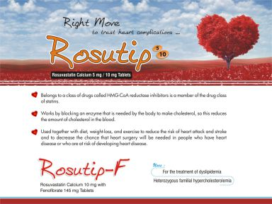 Rosutip-10 - (Zodley Pharmaceuticals Pvt. Ltd.)