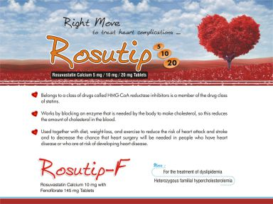 Rosutip-20 - (Zodley Pharmaceuticals Pvt. Ltd.)