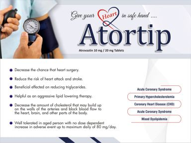 Atortip-20 - (Zodley Pharmaceuticals Pvt. Ltd.)