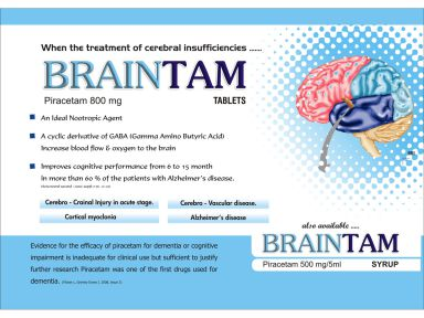 Braintam-800 - Zodley Pharmaceuticals Pvt. Ltd.