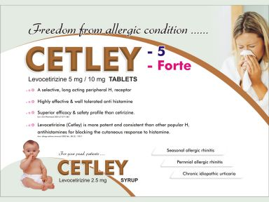 Cetley - (Zodley Pharmaceuticals Pvt. Ltd.)