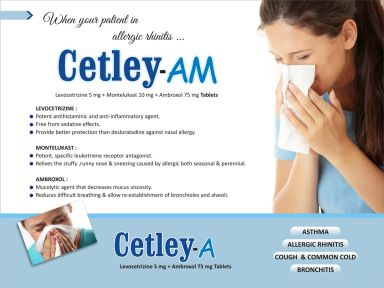 Cetley-A - (Zodley Pharmaceuticals Pvt. Ltd.)