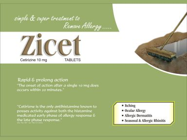 Zicet - (Zodley Pharmaceuticals Pvt. Ltd.)
