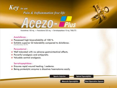 Acezo-Plus - (Zodley Pharmaceuticals Pvt. Ltd.)