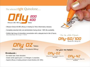 Ofly-400 - (Zodley Pharmaceuticals Pvt. Ltd.)