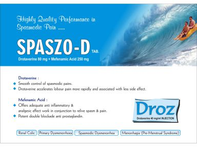 Spaszo-D - (Zodley Pharmaceuticals Pvt. Ltd.)